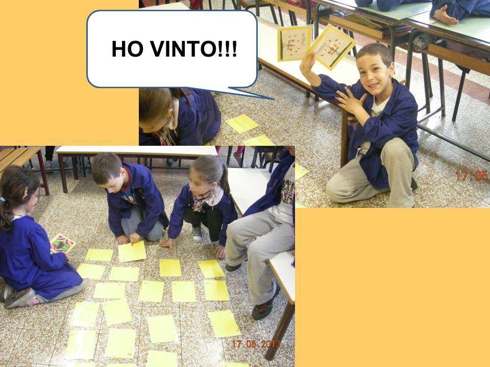 HO VINTO!!!