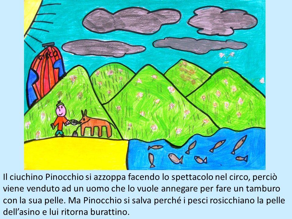 Pinocchio si lascia convincere dal suo amico Lucignolo ad andare nel Paese dei Balocchi, dove non ci sono scuole e i ragazzi giocano tutto il giorno,