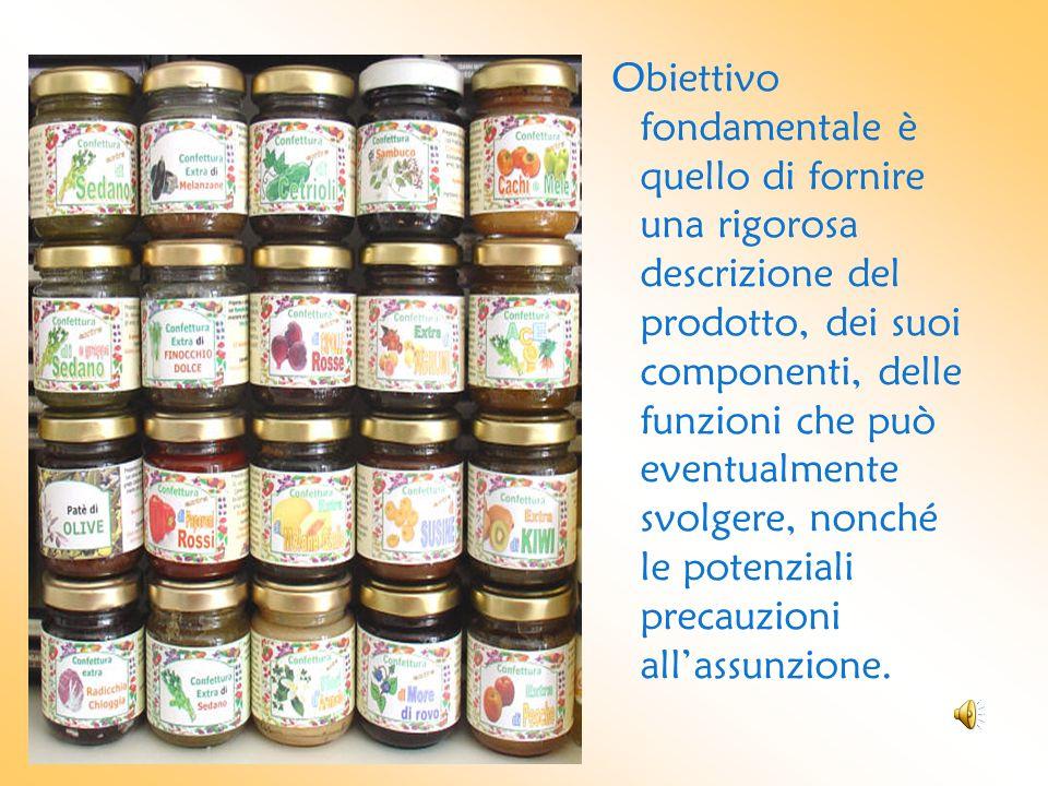 Obiettivo fondamentale è quello di fornire una rigorosa descrizione del prodotto, dei suoi componenti, delle funzioni che può eventualmente svolgere,