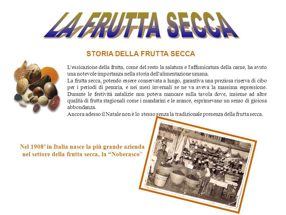 L essicazione della frutta, come del resto la salatura e l affumicatura della carne, ha avuto una notevole importanza nella storia dell alimentazione umana.