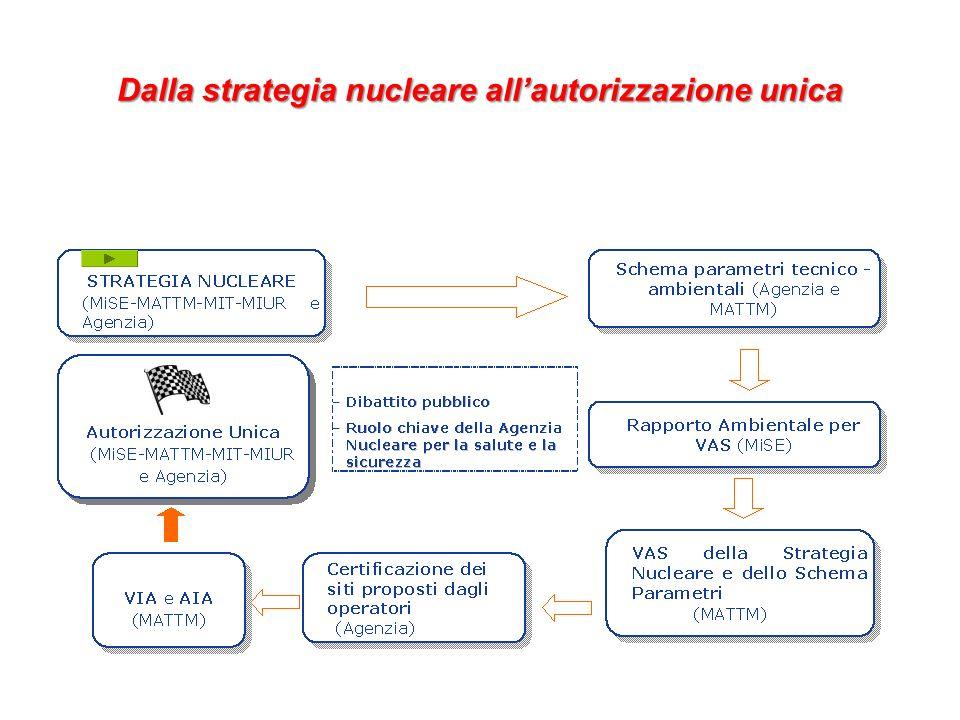Dalla strategia nucleare allautorizzazione unica