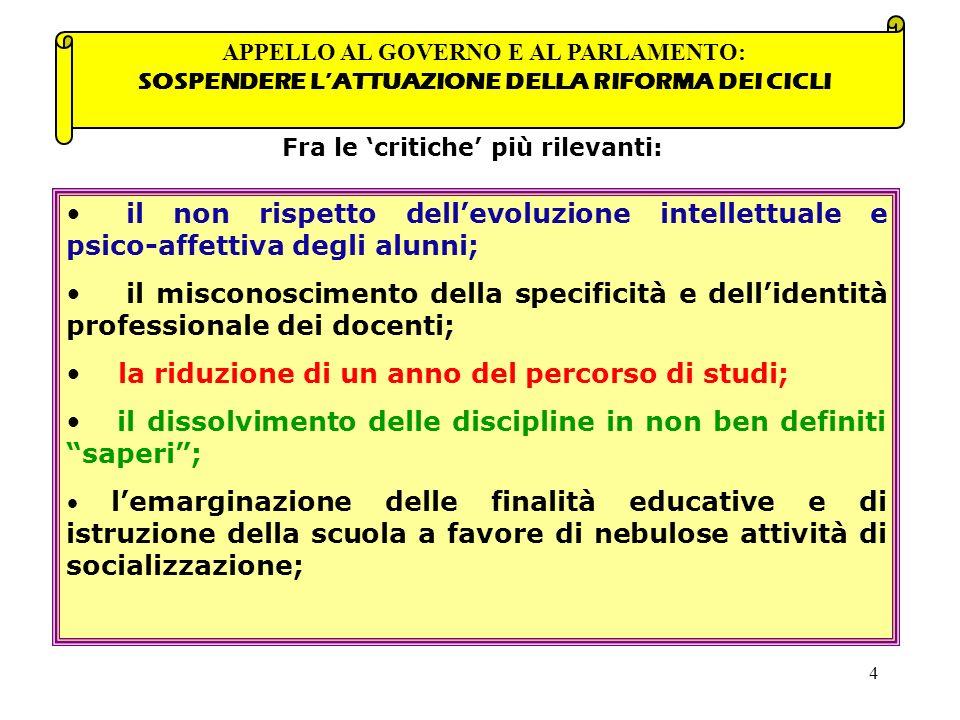 25 tiene conto dei seguenti punti che costituiscono allo stesso tempo risorsa e vincolo per la progettazione di ogni istituzione scolastica: Il Il P.O.F.
