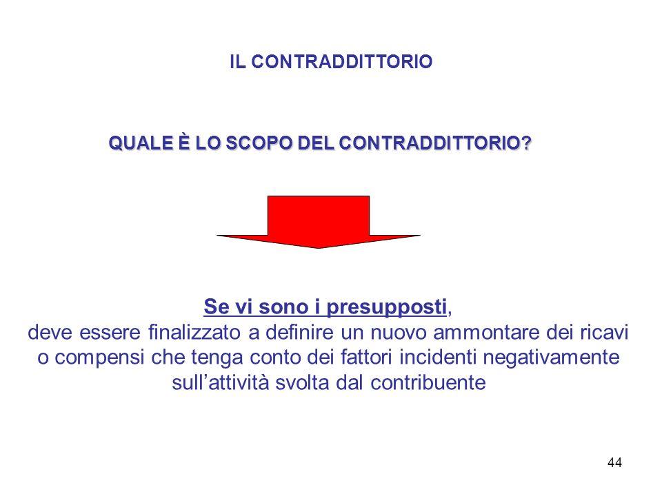 44 IL CONTRADDITTORIO QUALE È LO SCOPO DEL CONTRADDITTORIO.