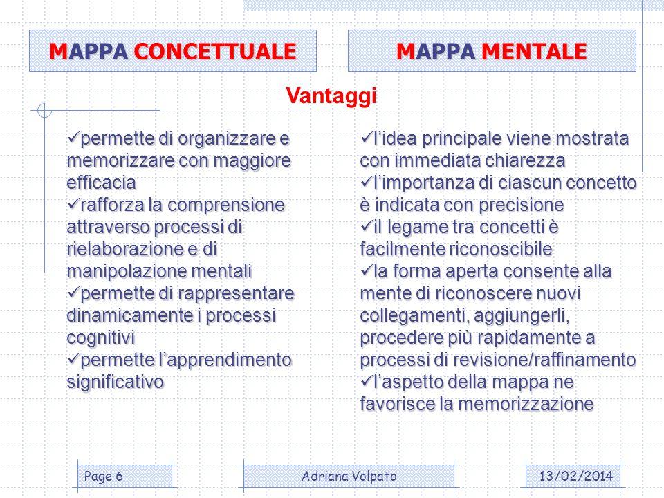 13/02/2014Adriana VolpatoPage 7 PROGRAMMI PER D.S.A.