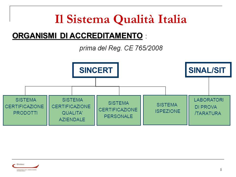 69 La UNI EN ISO 9001:2008 8 – Misurazione, analisi e miglioramento 8.5 Miglioramento Miglioramento continuo del SGQ attraverso tutti gli strumenti disponibili (politica e obiettivi per la qualità, risultati degli audit e dellanalisi dei dati, ecc.).