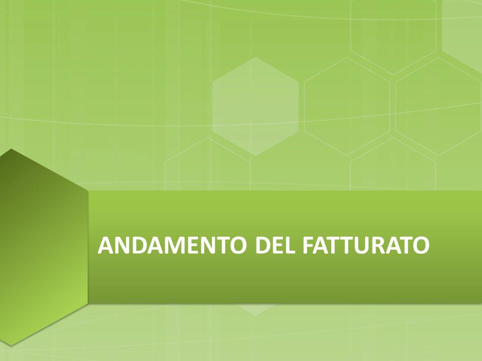 ANDAMENTO DEL FATTURATO