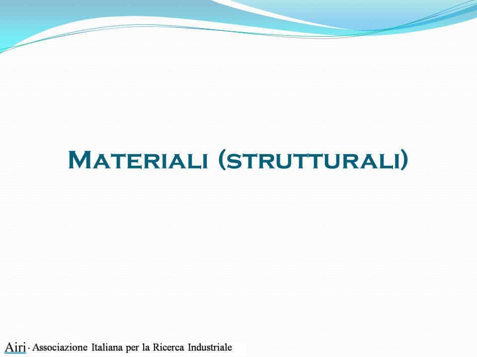 Materiali (strutturali)