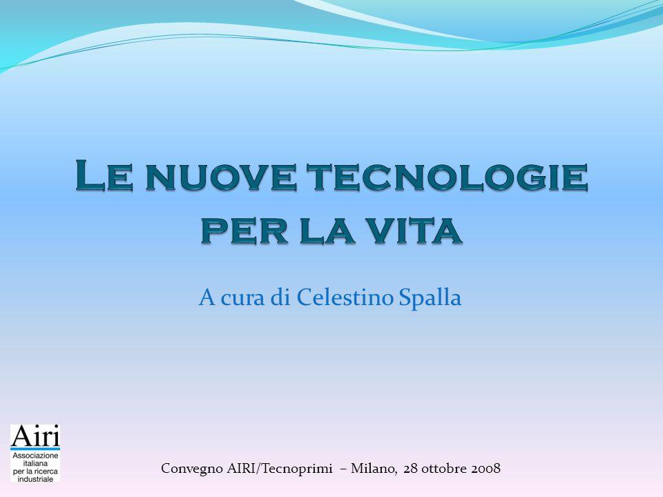 A cura di Celestino Spalla Convegno AIRI/Tecnoprimi – Milano, 28 ottobre 2008