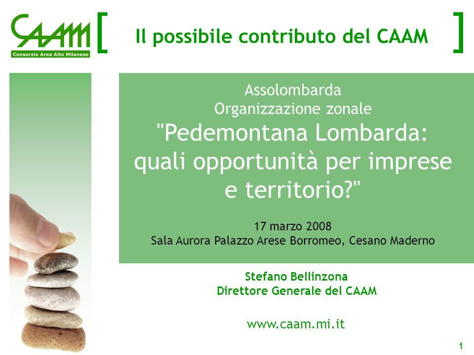 [ ] 12 I DataBase Topografici Nel 2006 e nel 2007 Provincia di Milano e CAAM hanno partecipato con successo ai bandi di finanziamento regionale per i DBTop
