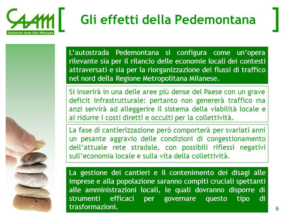 [ ] 7 Limpatto dei cantieri sul sistema infrastrutturale di MB: 2010 - 2015 2010 – 2015: la fase di cantiere La viabilità di Monza e Brianza è già fortemente congestionata.