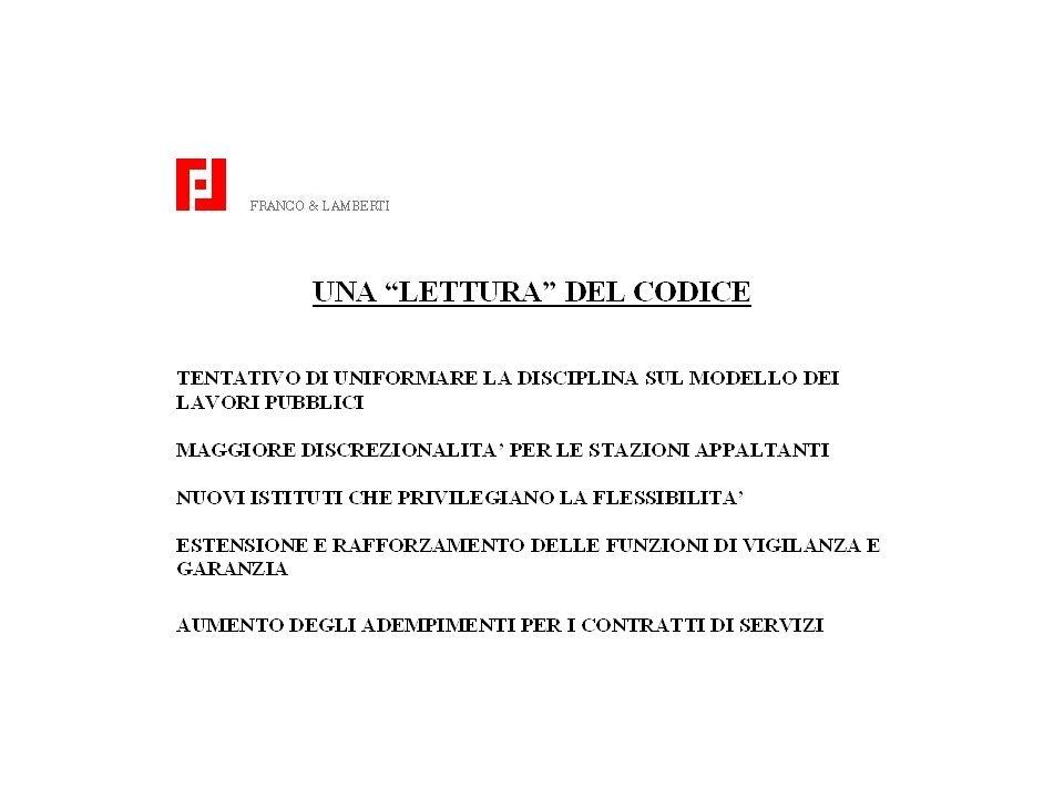 SOGLIE NEI SETTORI SPECIALI EX D.LG. N. 158/97 - I