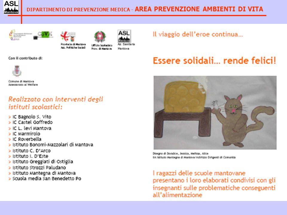 GRUPPO AZIENDALE DI LAVORO - Responsabile Area Prev Ambienti di Vita - Operatori Uff Educ.