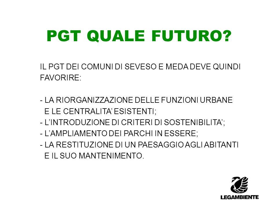PGT QUALE FUTURO.