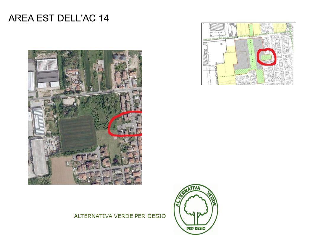 ALTERNATIVA VERDE PER DESIO AREA EST DELL'AC 14