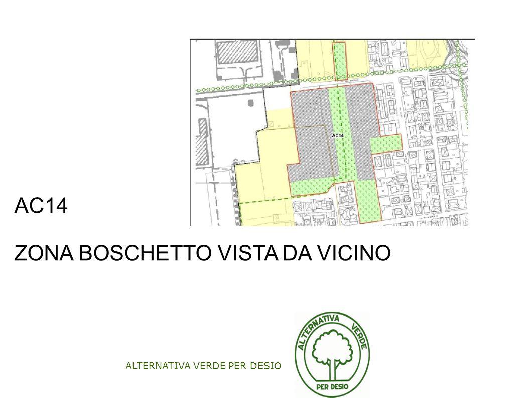 ALTERNATIVA VERDE PER DESIO AC14 ZONA BOSCHETTO VISTA DA VICINO