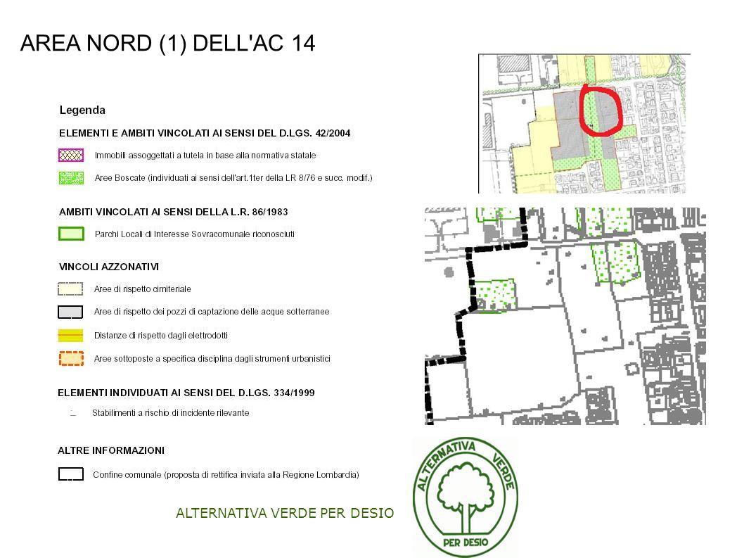 ALTERNATIVA VERDE PER DESIO AREA NORD (1) DELL'AC 14