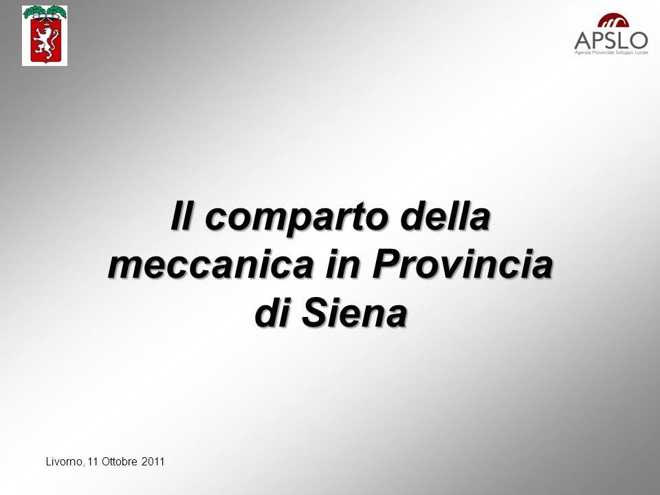 Livorno, 11 Ottobre 2011 Qualche numero….
