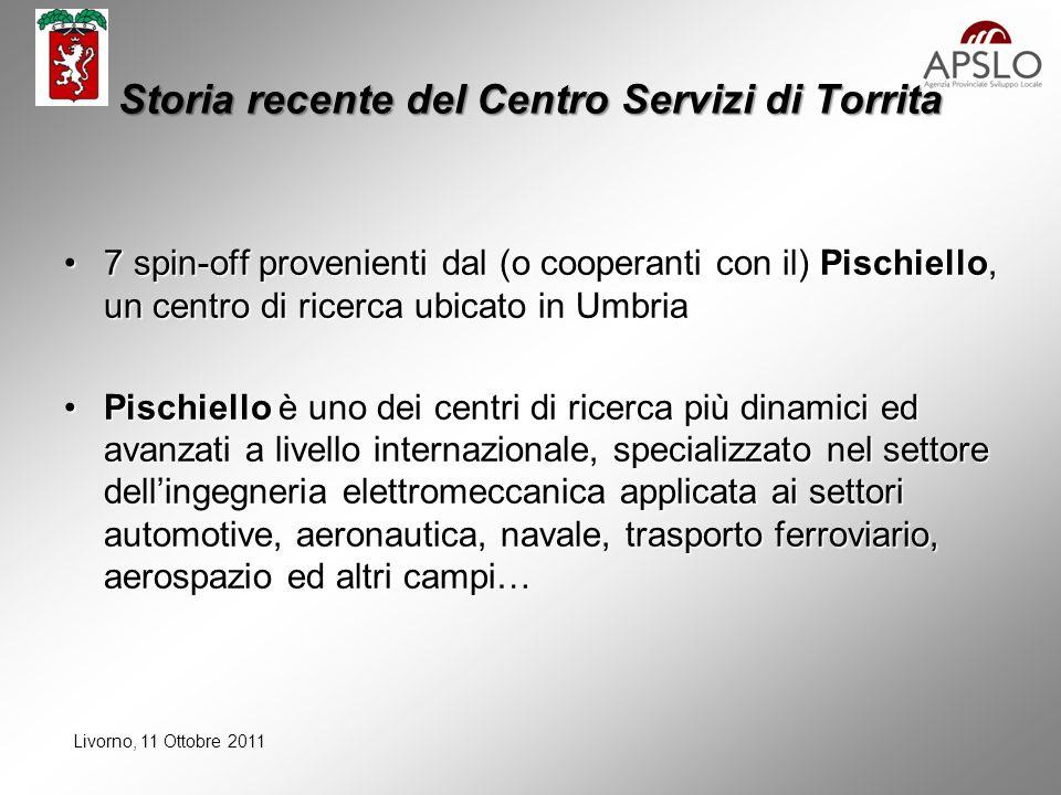 Livorno, 11 Ottobre 2011 PISCHIELLO: prodotti e clienti recenti