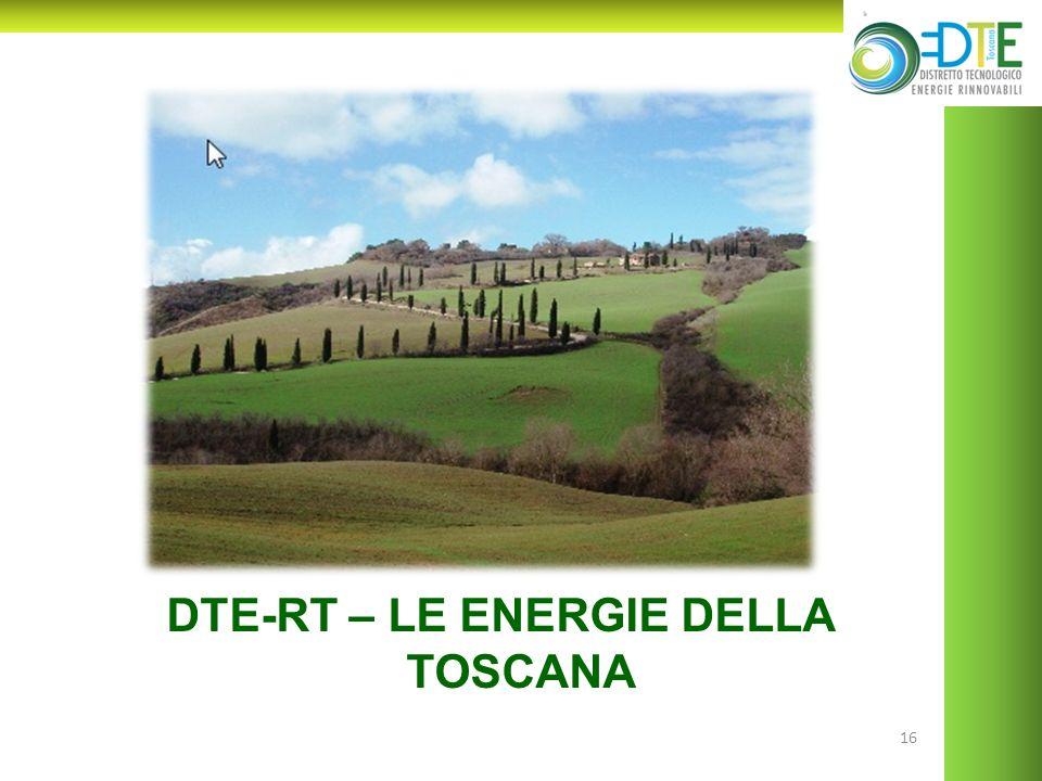 16 DTE-RT – LE ENERGIE DELLA TOSCANA