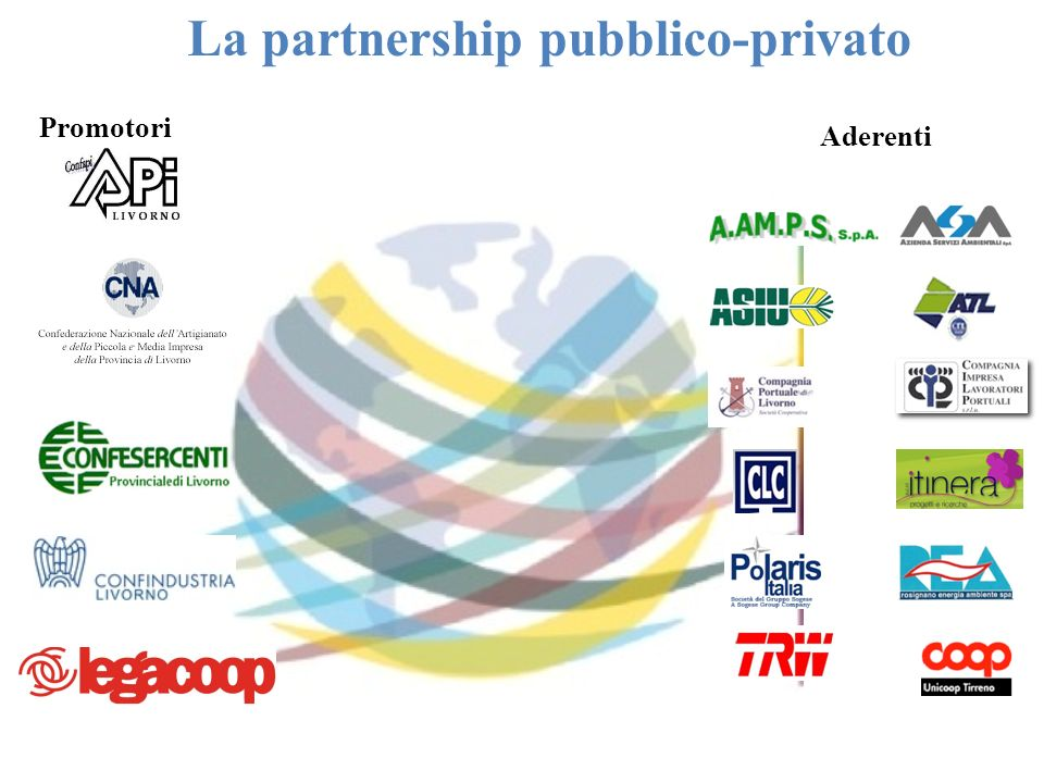 La partnership pubblico-privato Promotori Aderenti