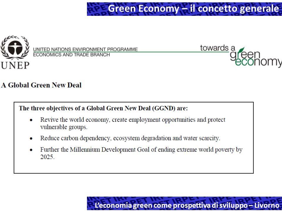 Leconomia green come prospettiva di sviluppo – Livorno Green Economy – il concetto generale
