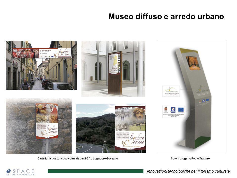 Innovazioni tecnologiche per il turismo culturale Cartellonistica turistico culturale per il GAL Logudoro GoceanoTotem progetto Regio Tratturo Museo d