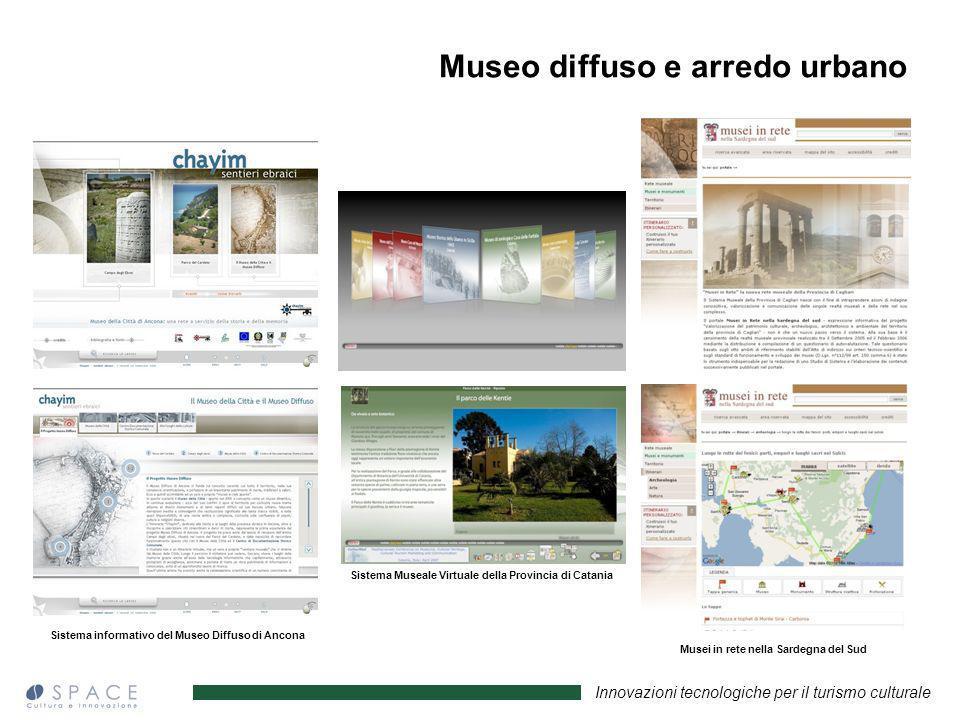 Innovazioni tecnologiche per il turismo culturale Sistema informativo del Museo Diffuso di Ancona Sistema Museale Virtuale della Provincia di Catania
