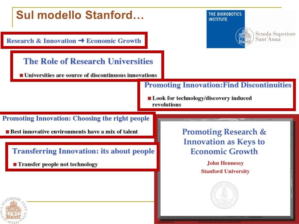 Sul modello Stanford…