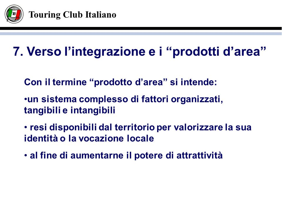 Touring Club Italiano 7.