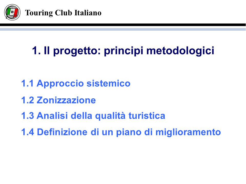 Touring Club Italiano 1.