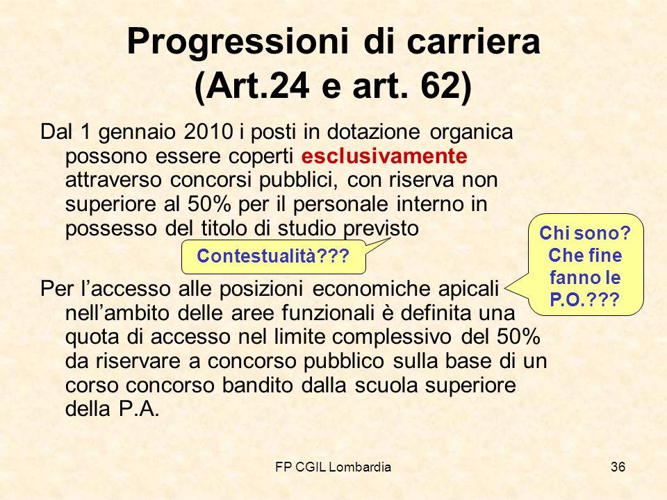 FP CGIL Lombardia36 Progressioni di carriera (Art.24 e art.