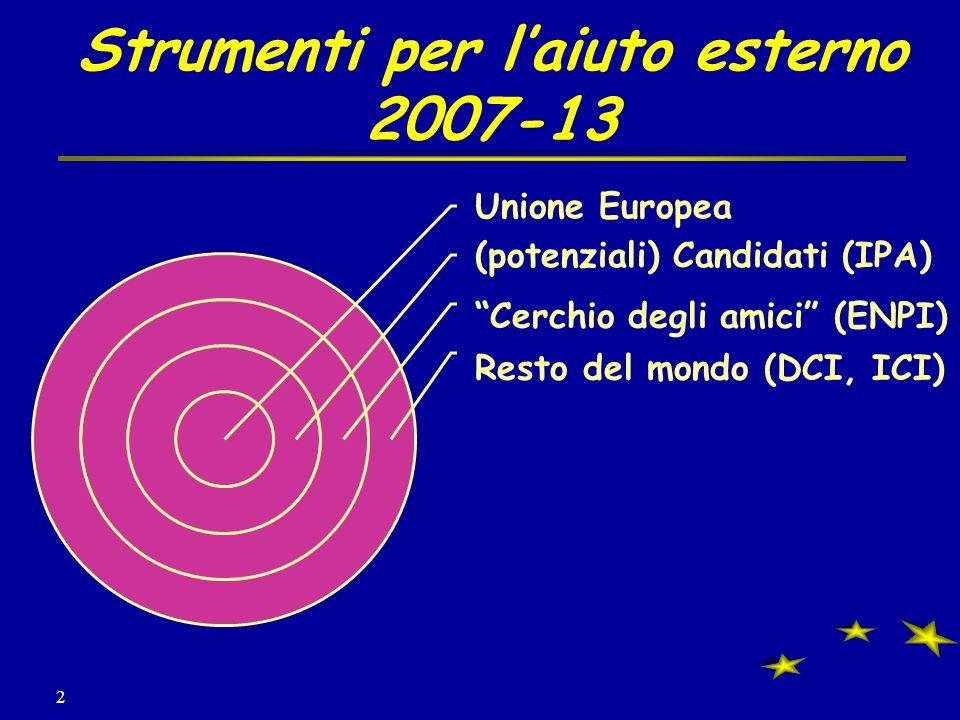 2 Strumenti per laiuto esterno 2007-13
