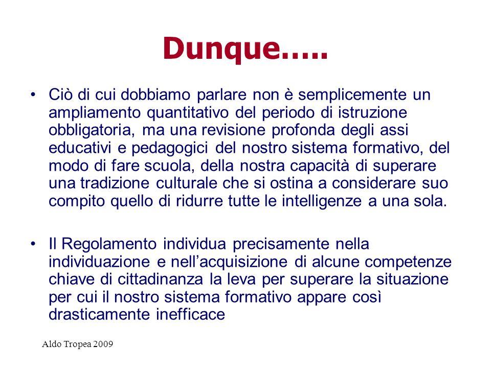 Aldo Tropea 2009 Dunque…..