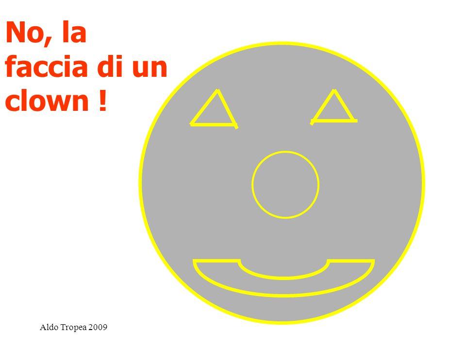 Aldo Tropea 2009 No, la faccia di un clown !