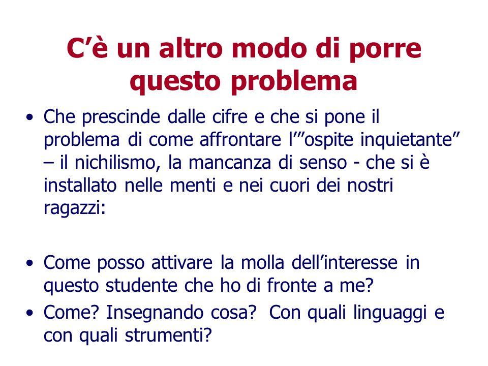 Aldo Tropea 2009 Non di sola scuola….