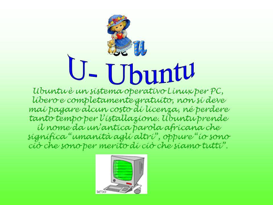 Ubuntu è un sistema operativo Linux per PC, libero e completamente gratuito, non si deve mai pagare alcun costo di licenza, né perdere tanto tempo per