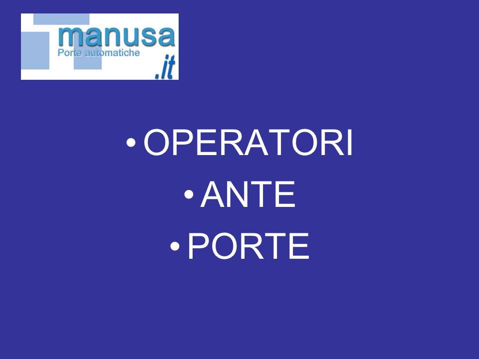 OPERATORI ANTE PORTE