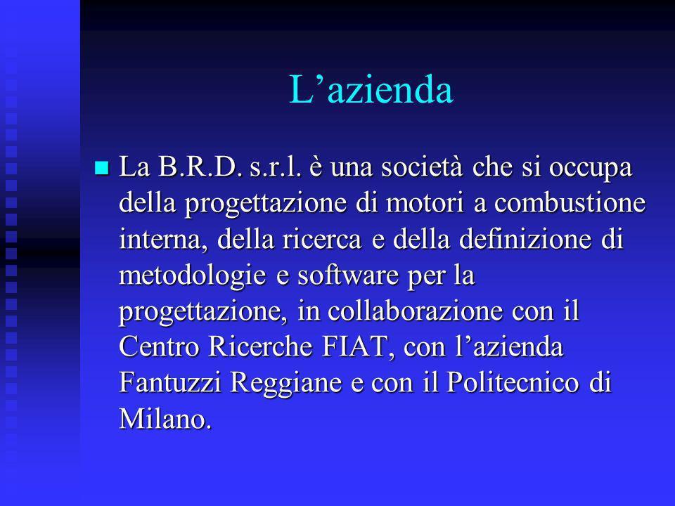 Lazienda La B.R.D. s.r.l. è una società che si occupa della progettazione di motori a combustione interna, della ricerca e della definizione di metodo