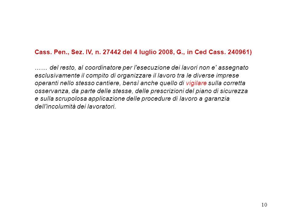 9 Articolo 92 - Obblighi del coordinatore per lesecuzione dei lavori 1.