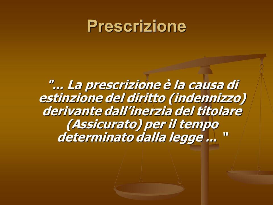 Prescrizione ...