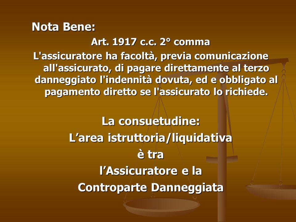 Nota Bene: Art.1917 c.c.