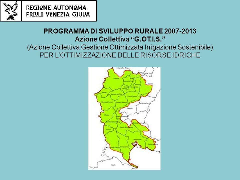 PROGRAMMA DI SVILUPPO RURALE 2007-2013 Azione Collettiva G.OT.I.S.