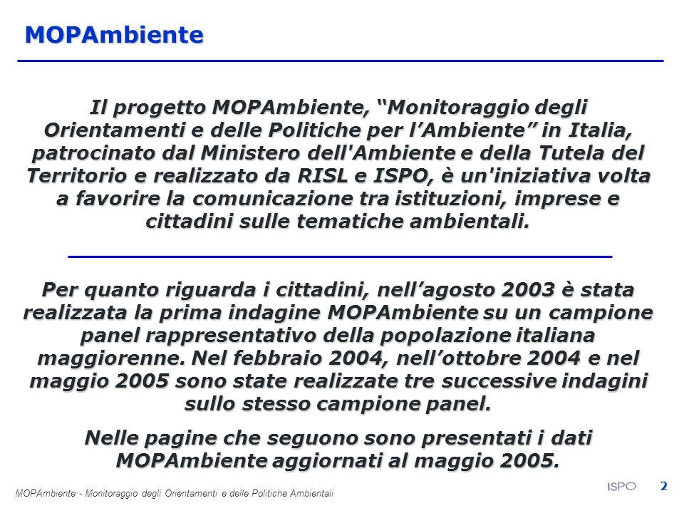 MOPAmbiente - Monitoraggio degli Orientamenti e delle Politiche Ambientali 13 La disponibilità e accessibilità delle normative E come desidererebbe ricevere questo tipo di informazioni da parte delle istituzioni e degli enti preposti.