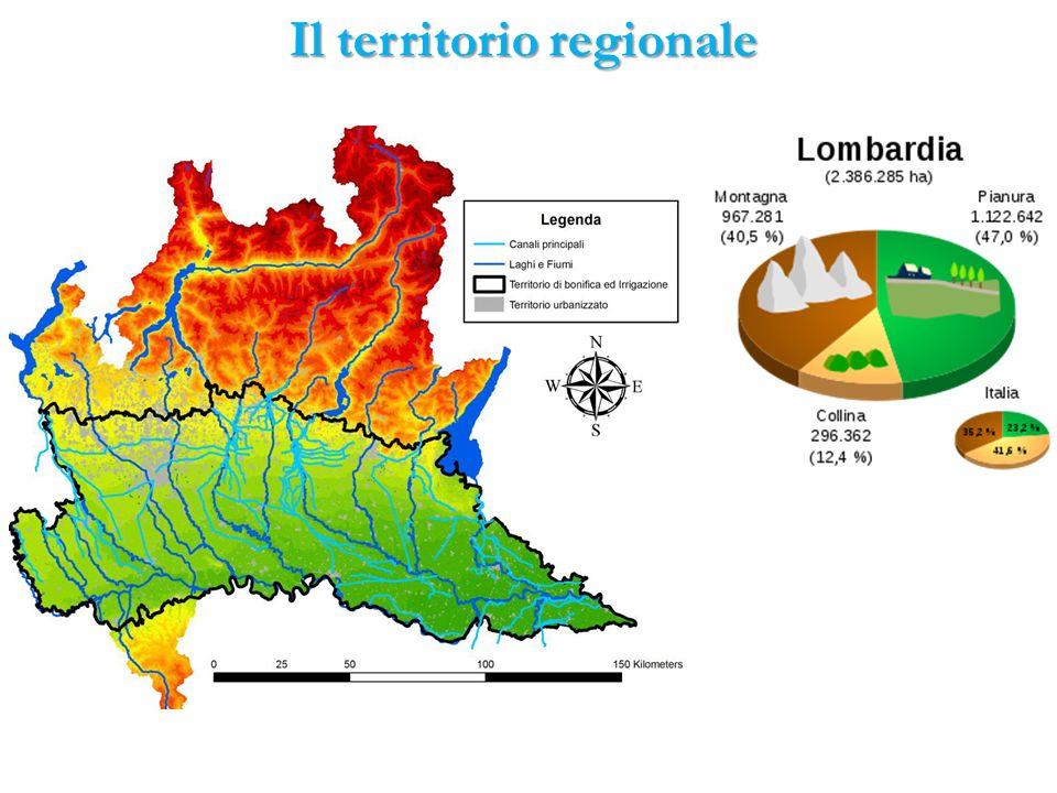 Il territorio regionale