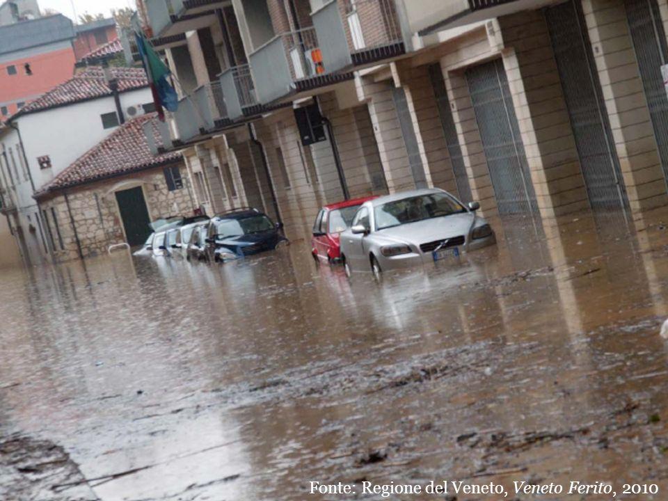 Fonte: Regione del Veneto, Veneto Ferito, 2010