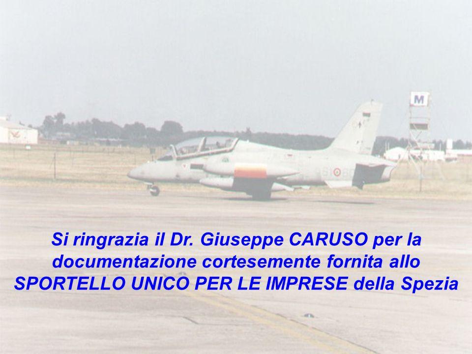 Si ringrazia il Dr. Giuseppe CARUSO per la documentazione cortesemente fornita allo SPORTELLO UNICO PER LE IMPRESE della Spezia