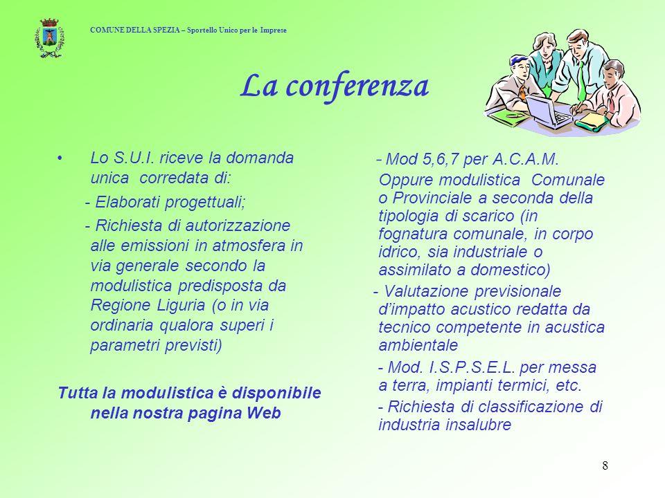 8 La conferenza Lo S.U.I.