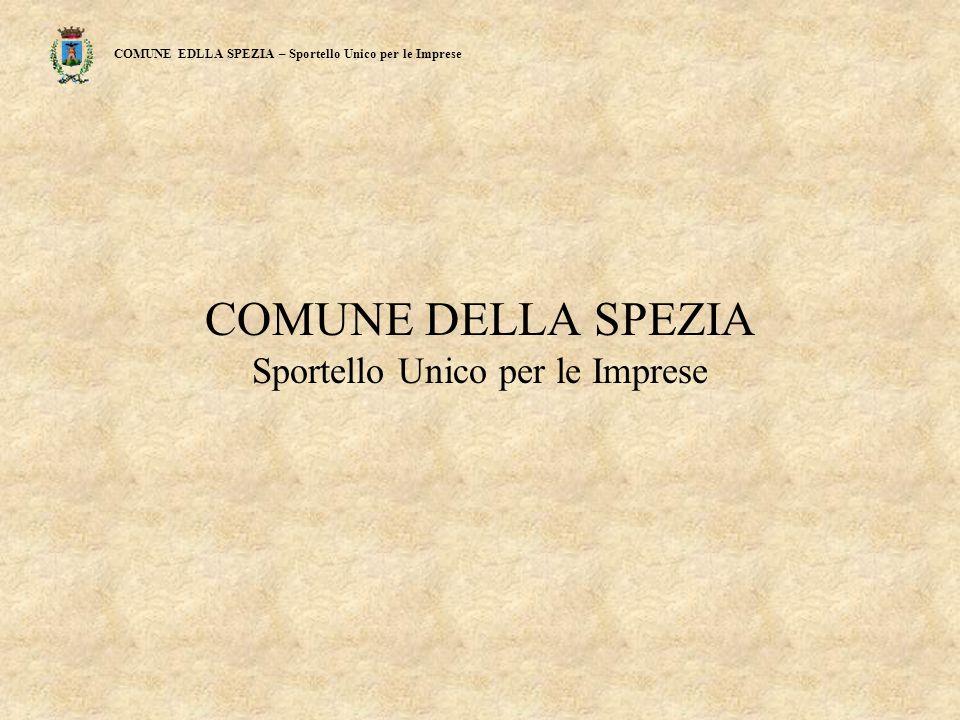 COMUNE EDLLA SPEZIA – Sportello Unico per le Imprese Fig. 5