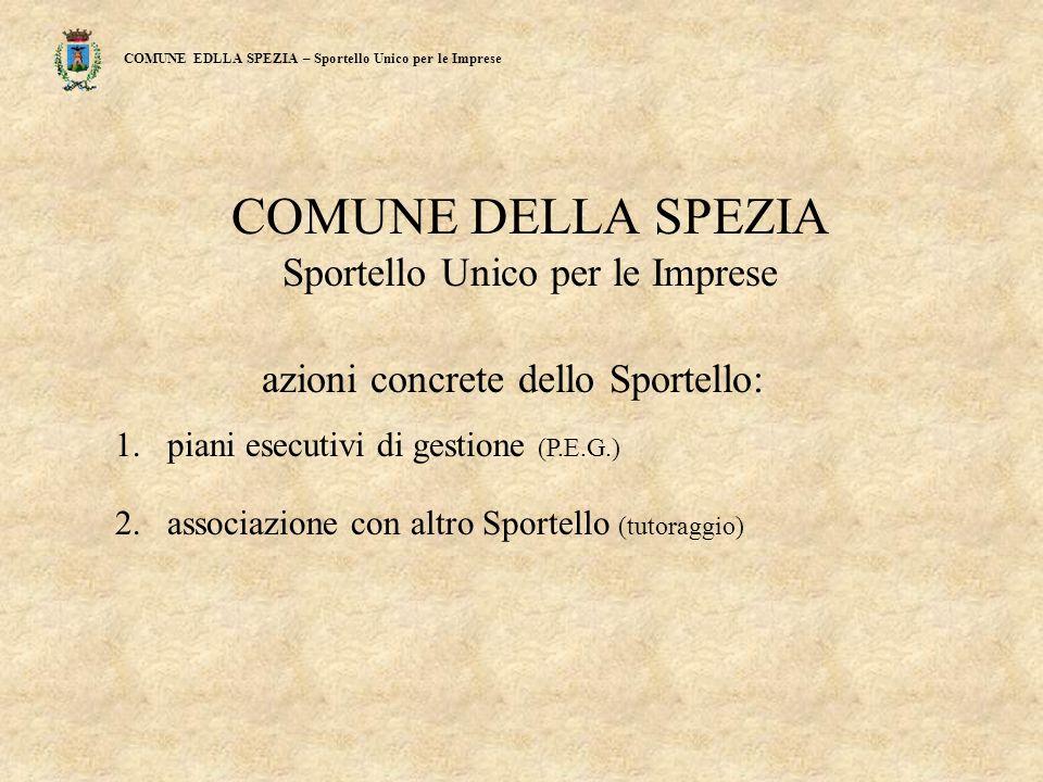 COMUNE EDLLA SPEZIA – Sportello Unico per le Imprese Fig. 8