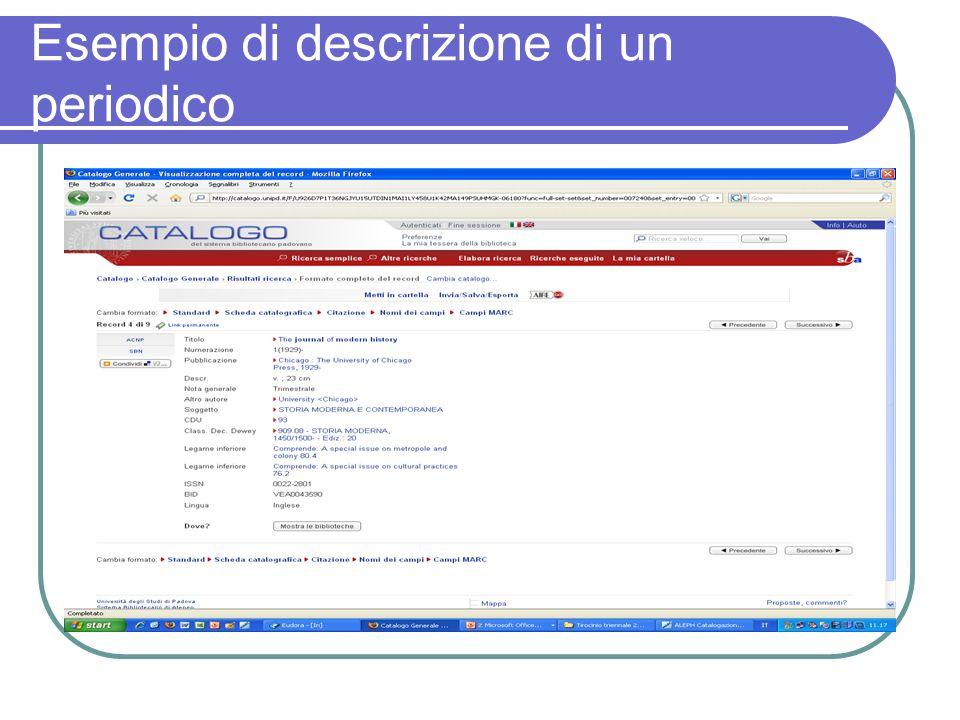 CaPerE: cosa contiene In CaPerE si possono trovare: Singoli e-joiurnal in abbonamento Pacchetti acquistati da distributori (ad es.